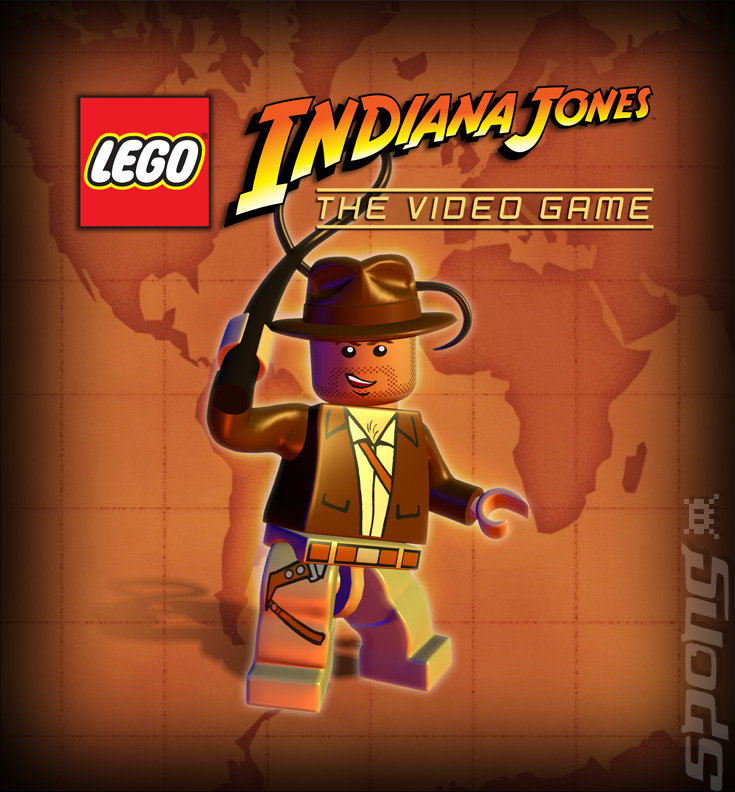Lego Indiana Jones: The Original Adventures - DS/DSi Artwork