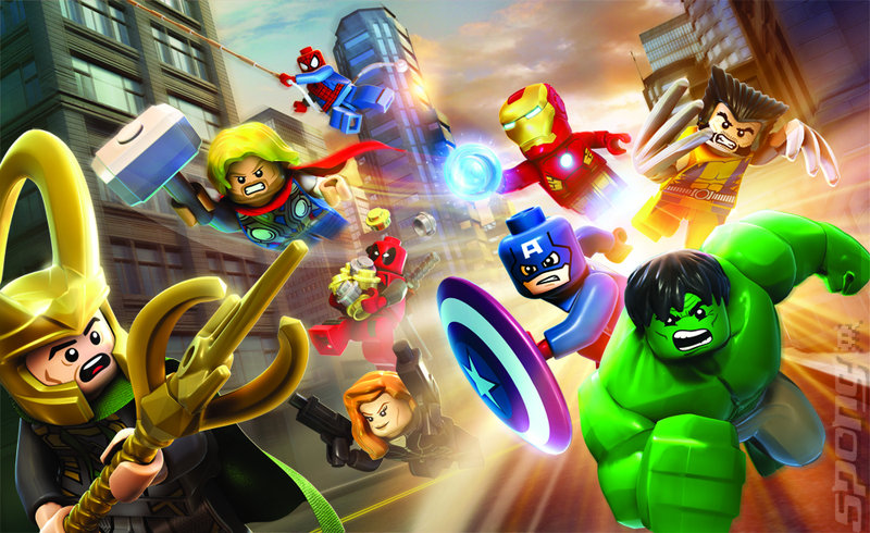 LEGO Marvel Super Heroes - PS4 Artwork