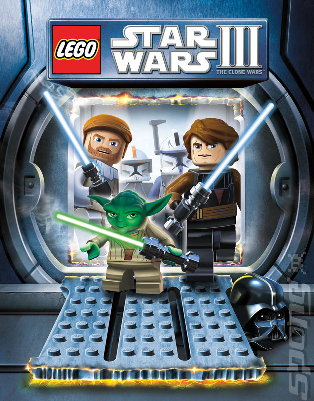 LEGO Star Wars III: The Clone Wars - DS/DSi Artwork