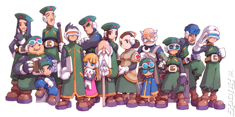 Mega Man Zero Collection - DS/DSi Artwork