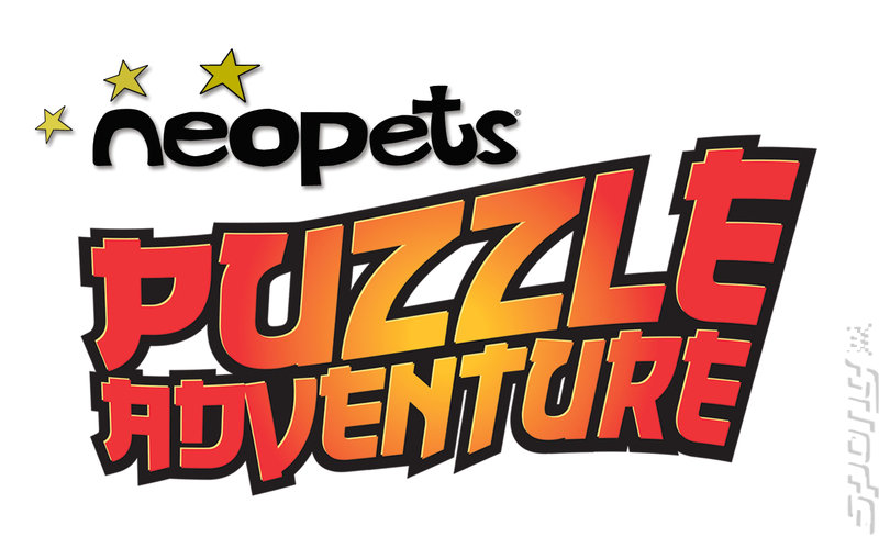 Neopets Puzzle Adventure - Wii Artwork
