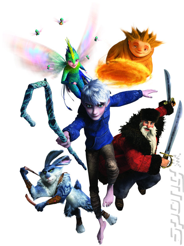 Rise of the Guardians - 3DS/2DS Artwork