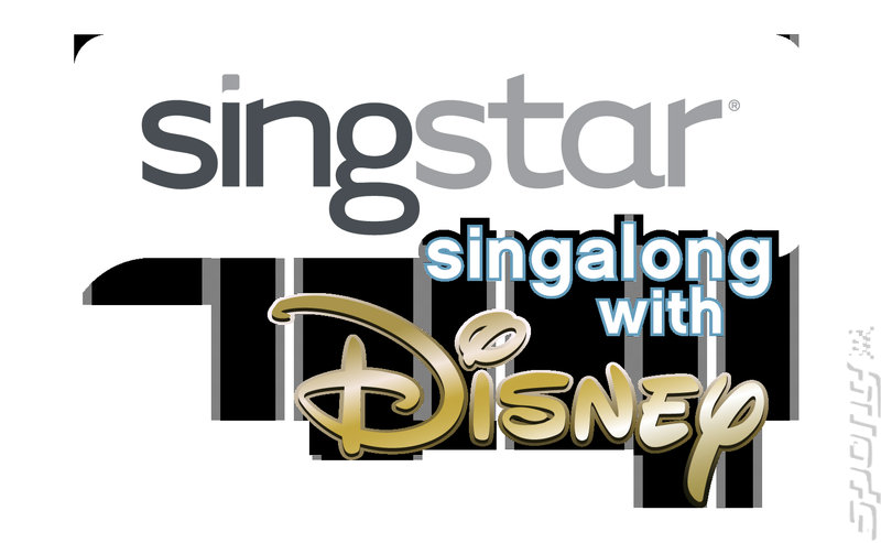 SingStar Singalong With Disney - PS2 Artwork