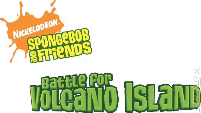 SpongeBob SquarePants and Friends: Battle For Volcano Island - PS2 Artwork