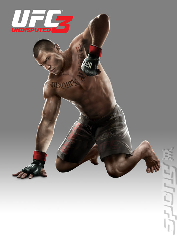 UFC Undisputed 3 - PS3 Artwork