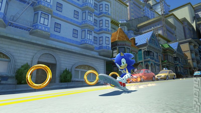 Sonic Generations Editorial image