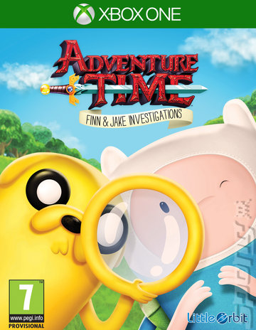 Adventure Time: Finn & Jake Investigations - Xbox One Cover & Box Art