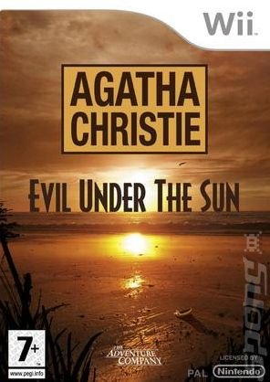 Agatha Christie: Evil Under the Sun - Wii Cover & Box Art
