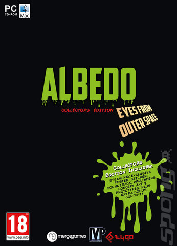 Albedo: Eyes from Outer Space - PC Cover & Box Art