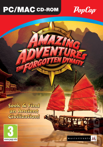 Amazing Adventures: The Forgotten Dynasty - PC Cover & Box Art