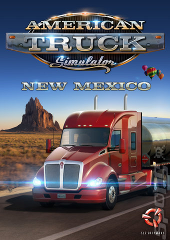 American Truck Simulator: New Mexico - PC Cover & Box Art