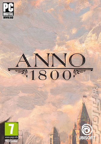 ANNO 1800 - PC Cover & Box Art