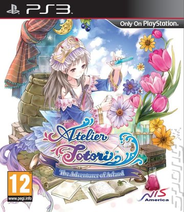 Atelier Totori: The Adventurer of Arland - PS3 Cover & Box Art