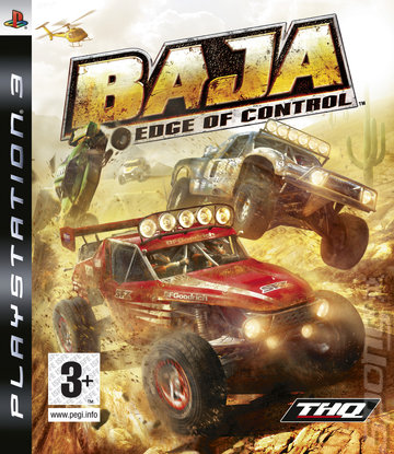 Baja: Edge of Control - PS3 Cover & Box Art