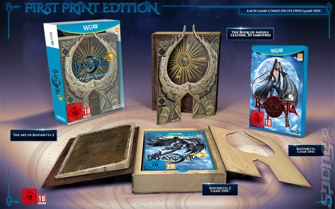 Covers & Box Art: Bayonetta 2 - Wii U (2 of 4)