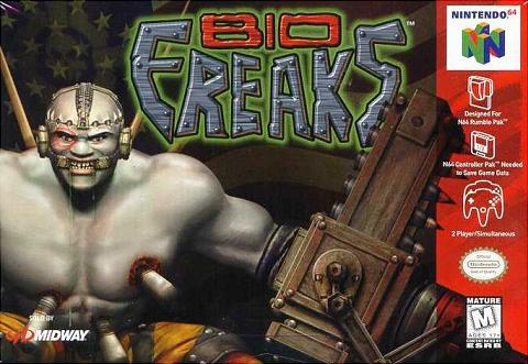 Bio Freaks - N64 Cover & Box Art