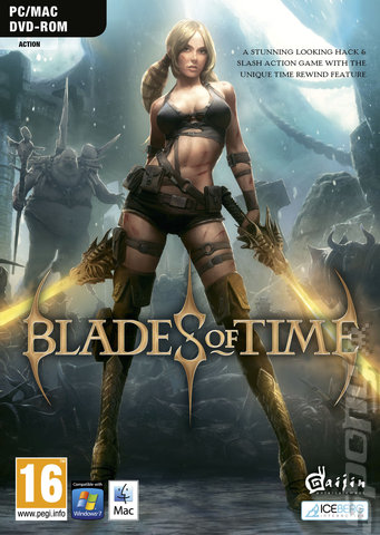 Blades of Time - PC Cover & Box Art
