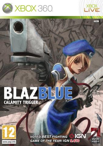 BlazBlue: Calamity Trigger - Xbox 360 Cover & Box Art