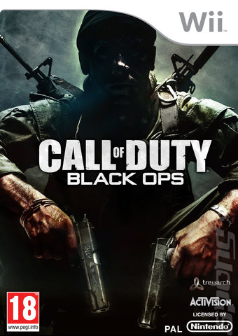 black ops box cover. Call of Duty: Black Ops (Wii)