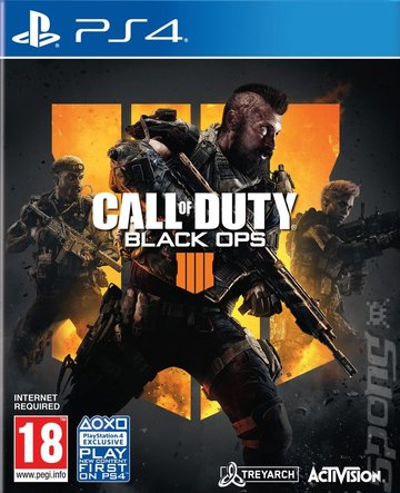 Call of Duty: Black Ops 4 - PS4 Cover & Box Art