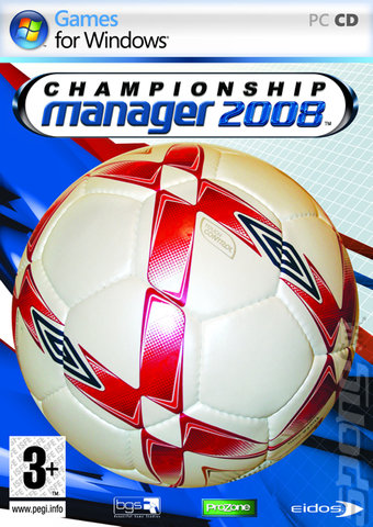 Championship Manager 2008 - PC Cover & Box Art