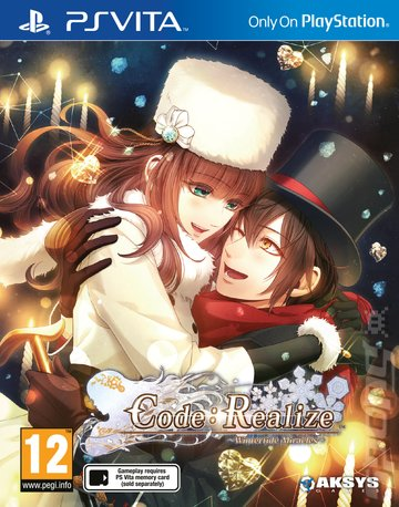Code: Realize ~Wintertide Miracles~ - PSVita Cover & Box Art