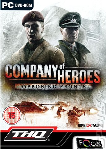 Company of Heroes: Opposing Fronts - PC Cover & Box Art