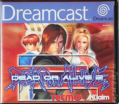 Dead or Alive 2 - Dreamcast Cover & Box Art