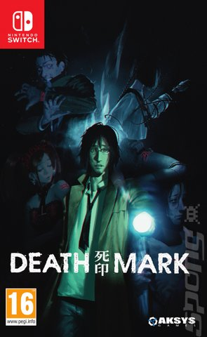 Death Mark - Switch Cover & Box Art