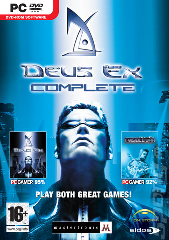 Deus Ex Complete - PC Cover & Box Art