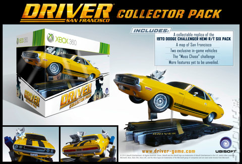 Driver: San Francisco - Xbox 360 Cover & Box Art
