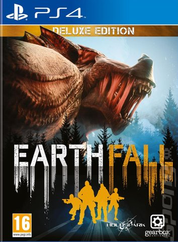 Earthfall - PS4 Cover & Box Art