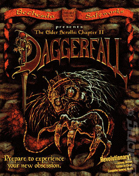 Elder Scrolls: Daggerfall - PC Cover & Box Art