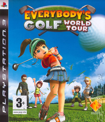 Everybody's Golf World Tour - PS3 Cover & Box Art