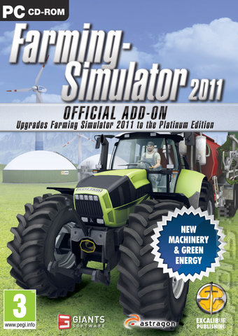 covers box art farming simulator 2011 official add on pc 1 of 1. Black Bedroom Furniture Sets. Home Design Ideas