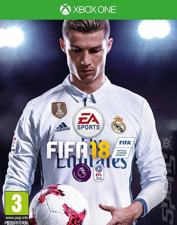 FIFA 18 - Xbox One Cover & Box Art