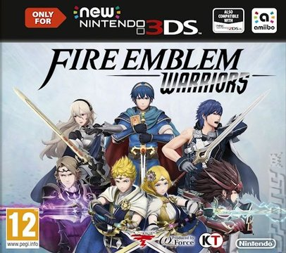 Fire Emblem Warriors - New 3DS Cover & Box Art