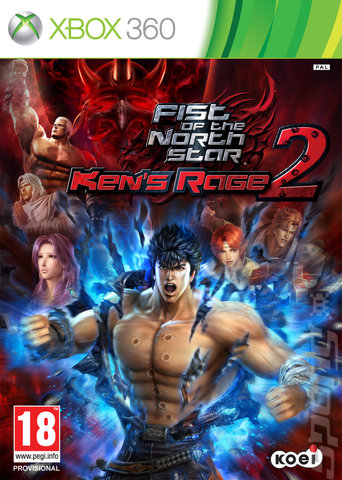 Capa   Fist of the North Star Kens Rage 2 Xbox 360   Download Fist of the North Star: Kene#8217;s Rage 2 2013  Xbox 360  JOGO