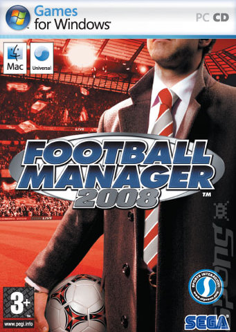Football Manager 2008 - PC Cover & Box Art