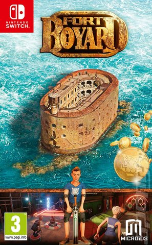 Fort Boyard - Switch Cover & Box Art
