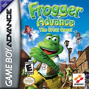 Frogger Advance : The Great Quest GBA