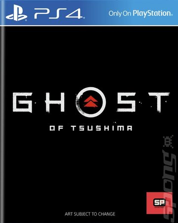 Ghost of Tsushima - PS4 Cover & Box Art