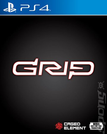 GRIP - PS4 Cover & Box Art