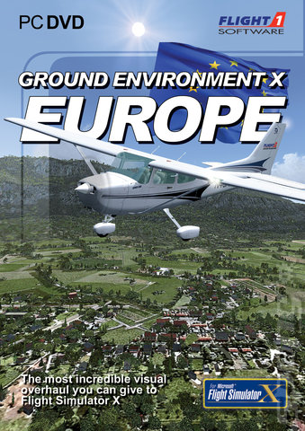 Ground Environment X: Europe - PC Cover & Box Art