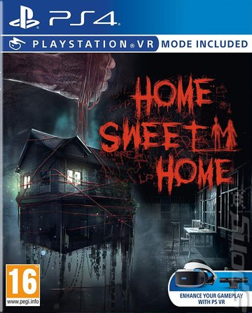 Home Sweet Home - PS4 Cover & Box Art