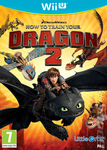 How to Train Your Dragon 2 - Wii U Cover & Box Art