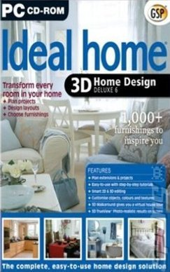 Covers box art ideal home 3d home design deluxe 6 pc 1 of 1 for 3d home architect home design deluxe 6