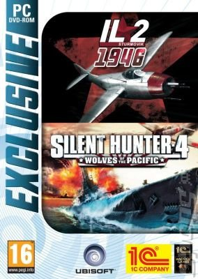 IL-2 Sturmovik: 1946 & Silent Hunter 4: Wolves of the Pacific - PC Cover & Box Art