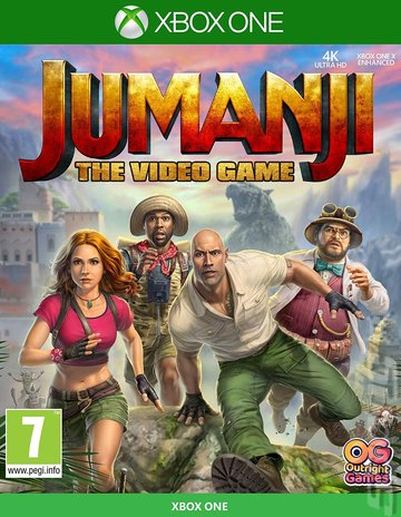 Jumanji: The Video Game - Xbox One Cover & Box Art