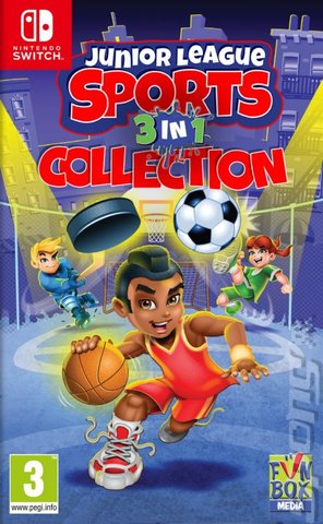 Junior League Sports: 3-in-1 Collection - Switch Cover & Box Art